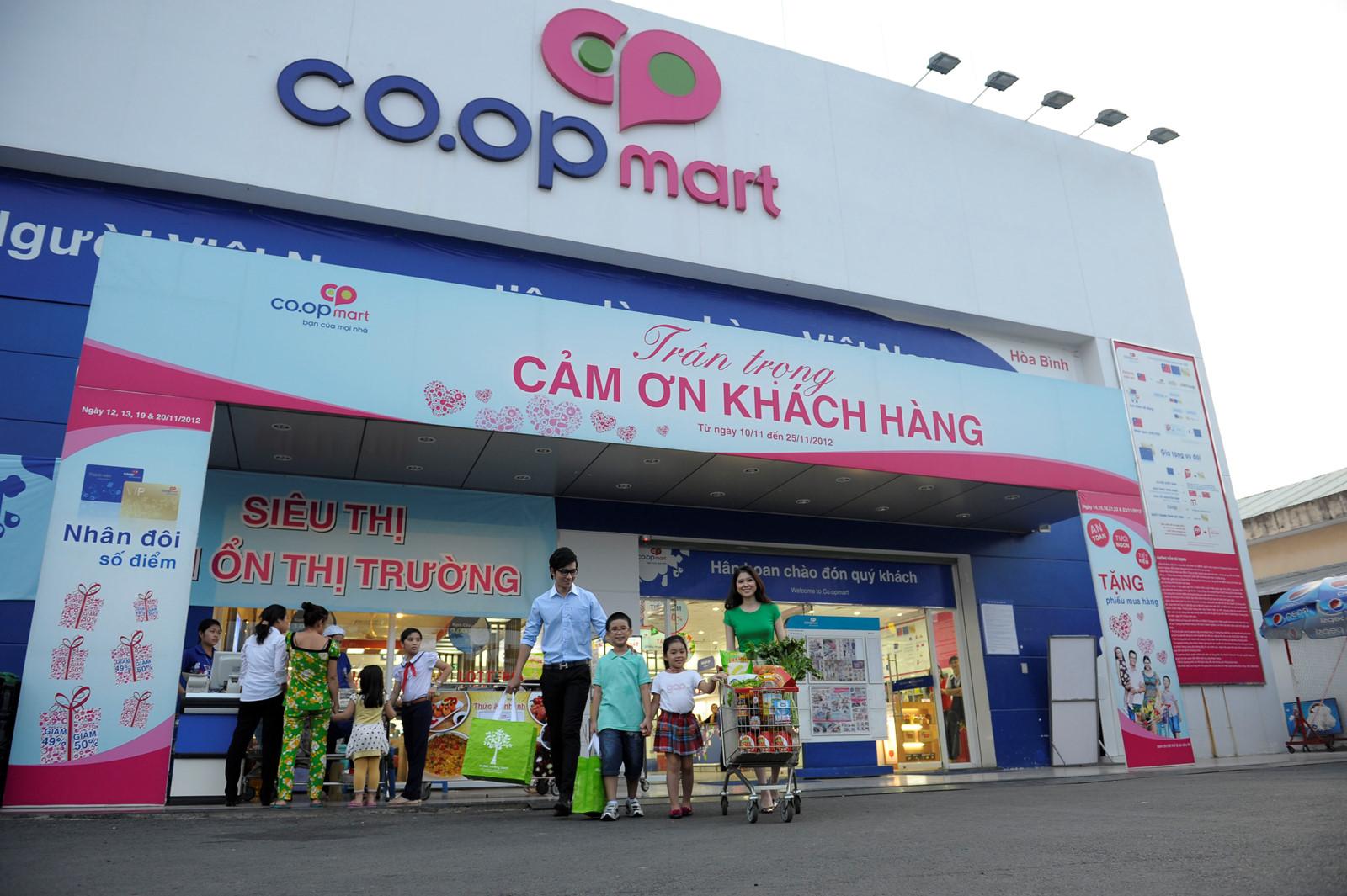 TTTM Co.op Mart Đồng Văn Cống